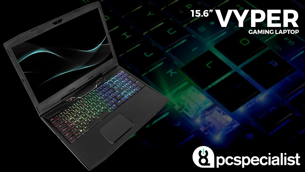 "PCSpecialist Vyper 15.6"" Gaming Laptop"