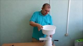 Сепаратор ручной (Видео обзор сепаратора для молока)