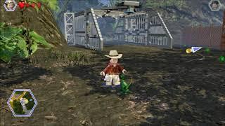 Lego Jurassic World. Nick opens a Gate. Shady Grove, Jurassic World.