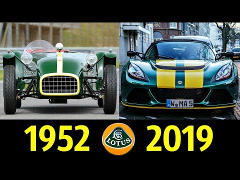 Lotus - Эволюция (1952 - 2019) ! История Марки !