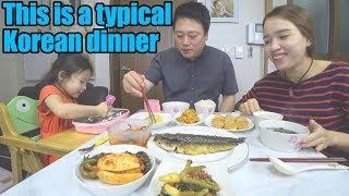 [Cuộc Sống Hàn Quốc] Bữa Cơm Hằng Ngày Của Gia Đình ChaeWon