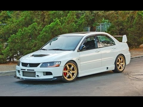 2016 Lancer Evolution >> Mitsubishi lancer evolution 9 Tuning - YouTube