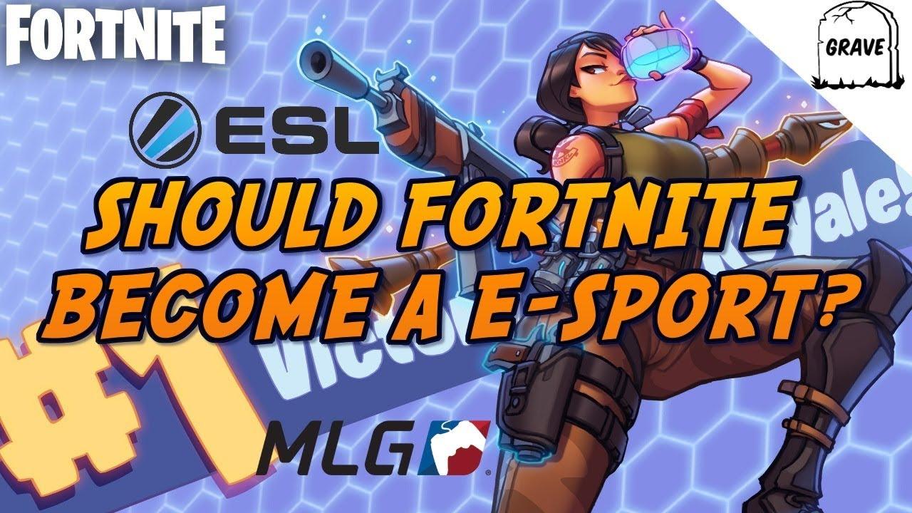 ps4 should fortnite become a esport fortnite battle royale - esports fortnite ps4