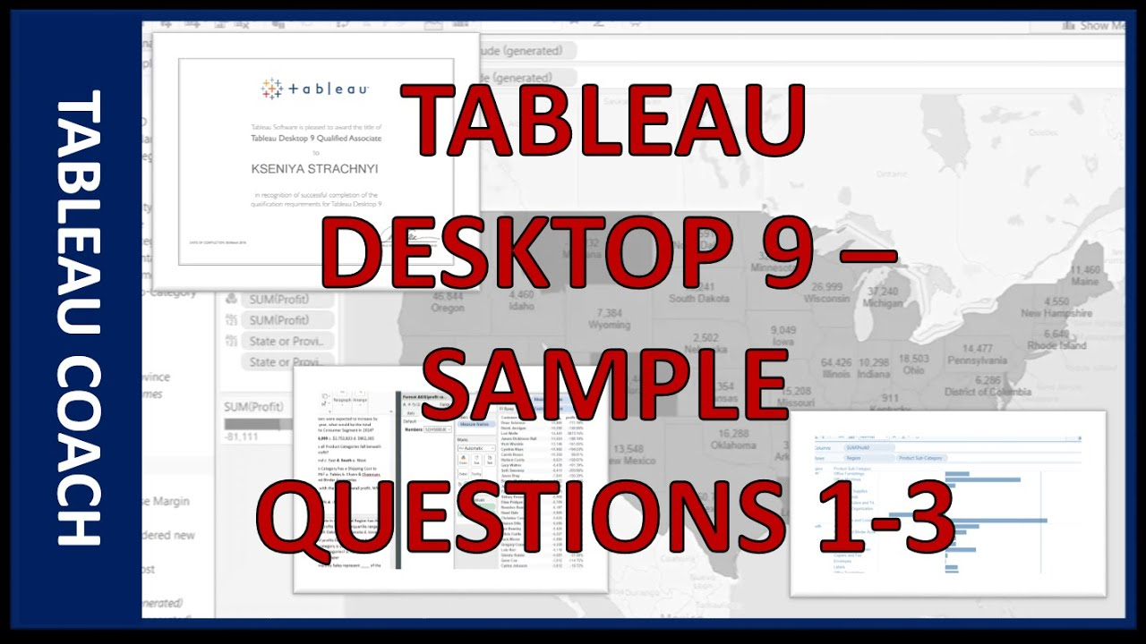 Tableau Desktop 9 - Sample: Questions #1-3