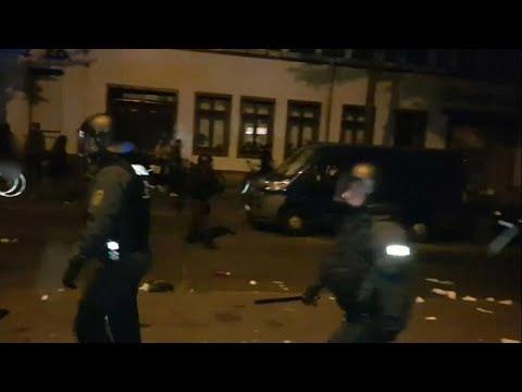 شاهد: مواجهات بين الشرطة الألمانية ومحتجين ضدّ ترحيل مواطن سوري…  - 15:54-2019 / 7 / 10