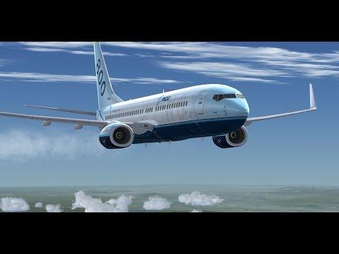 P3D V4 Takeoff and Land Sao Paulo to Curitiba