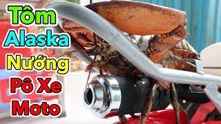 Lâm Vlog - Tôm Hùm Alaska Nướng Pô Xe Moto Mini 50cc và Cái Kết Đen Thui | Pocket Bike for Kids $150