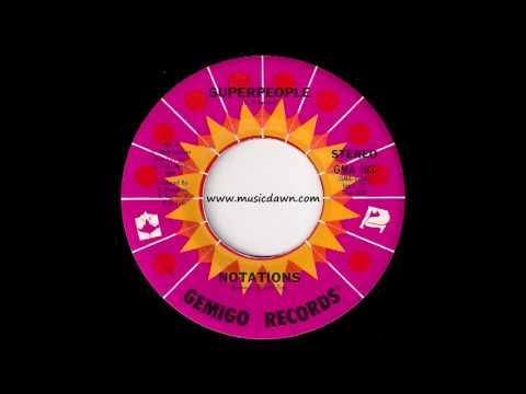 Notations - Superpeople [Gemigo] 1974 Soul Funk 45