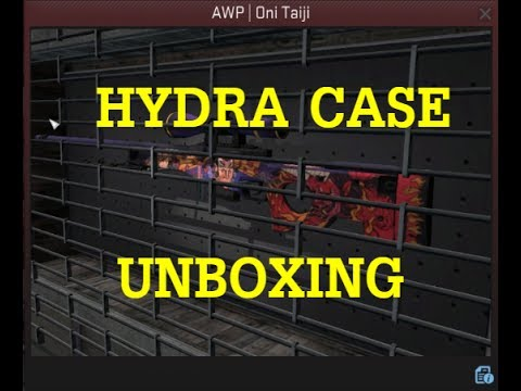 CS:GO - BRAND NEW HYDRA CASE UNBOXING - COVERT AWP | ONI TAIJI UNBOXED