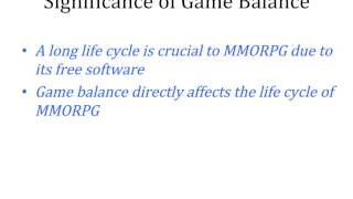 Solving the balance problem of massively multiplayer online role playing games using coevolutionary