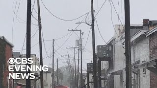 Florida residents rescued while riding out Hurricane Michael