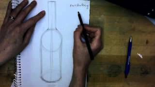 Art Survey: How to draw a bottle