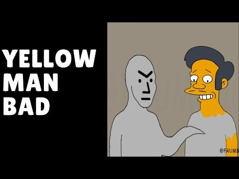 Apu Is Saved From SJW's! (For Now)  #YellowManBad