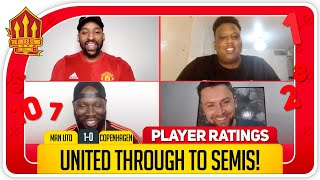 Martial scores 9! Manchester United 1-0 FC Copenhagen Player Ratings