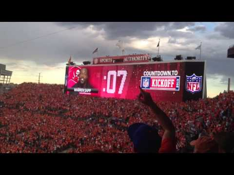 Baltimore Ravens At Denver Broncos - Countdown To Kickoff - Sports Authority Field - Denver, CO