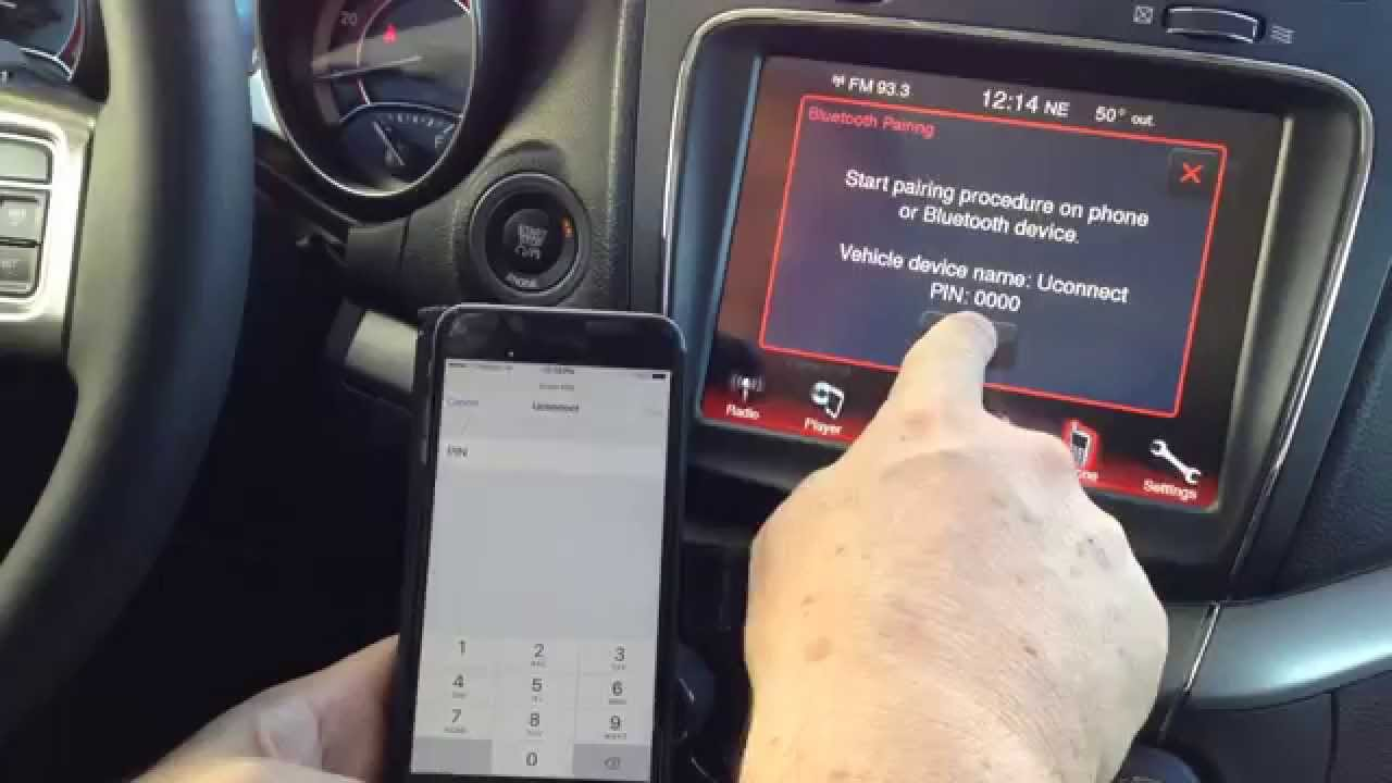 Pair Your Phone With Uconnect   Spirit Chrysler Dodge Jeep ...