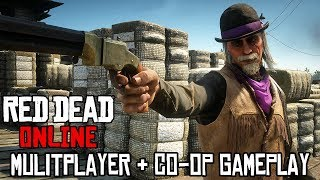 RED DEAD REDEMPTION 2 - Online Multiplayer & Co-op Gameplay @ 1080p ᴴᴰ ✔