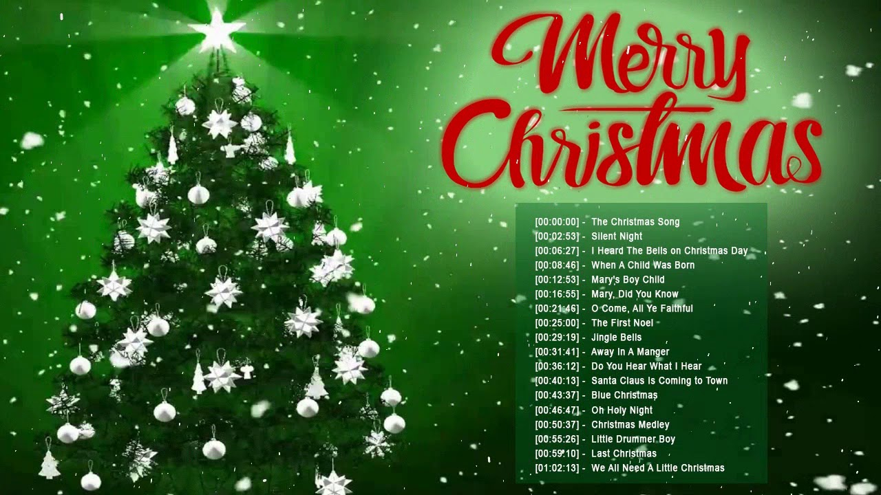 Best Old Christmas Songs 2018 Top English Christmas Songs Traditional Classic Christmas Songs Youtube
