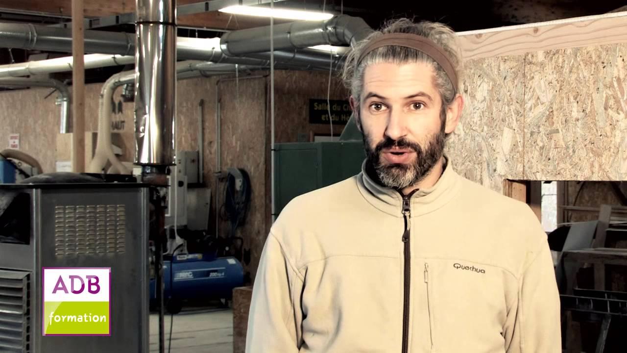 Cap Constructeur Bois - Damien suit un CAP Constructeur ossature bois en continuà ADB Formation YouTube