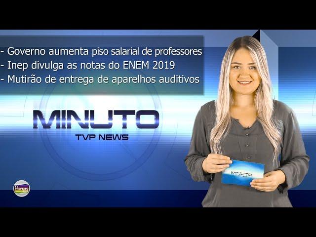 MINUTO TVP NEWS 17/01/2020