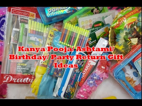 Return Gifts For Kanya Pooja Ashtami Birthday Party