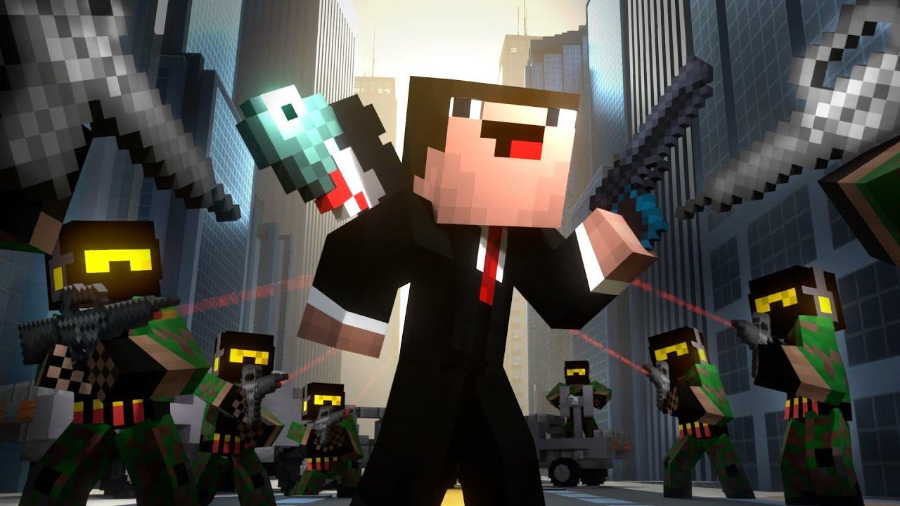 Download AGENT DERP (Minecraft Animation)