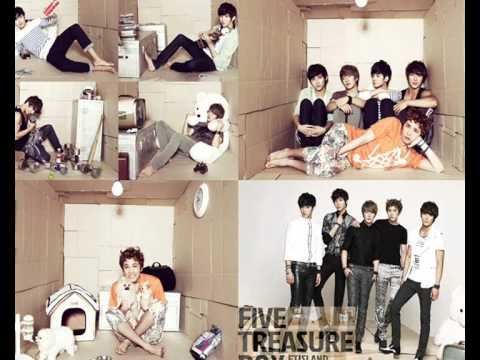 F.T. ISLAND - FIVE TREASURE BOX FULL ALBUM