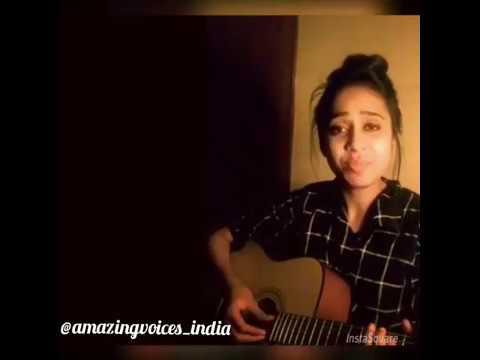 Ek pardesi mera Dil le gya sing by cute girl with Guitar