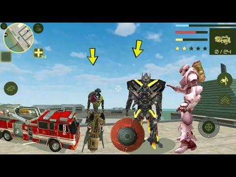 ► Games Hole Present Best Robot Mobile Game 2019 - Transformer. Ball Robot, Spider Robot, Car Robot