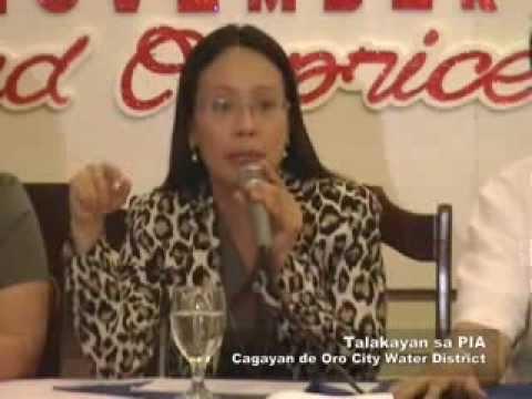 Talakayan sa PIA (Cagayan de Oro City Water District)