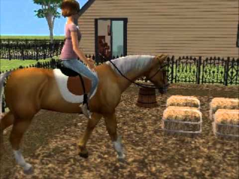 Sims 2 Horses Riding Chase