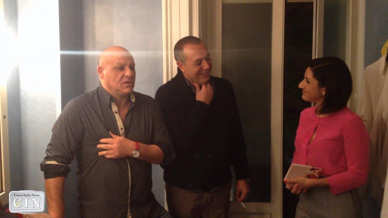 Teatro augusteo intervista a peppe lanzetta e federico - Federico salvatore sulla porta ...
