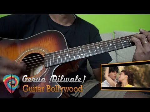 "#Learn2Play ★★★ ""Gerua"" (Dilwale) chords - Guitar Bollywood lesson"