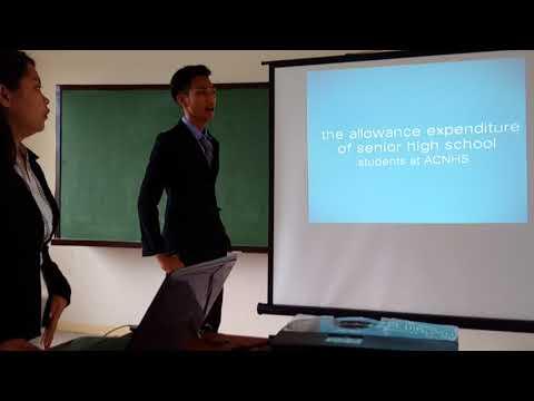 ACNHS SHS - Pre defense presentation 3 Grade 12 ABM