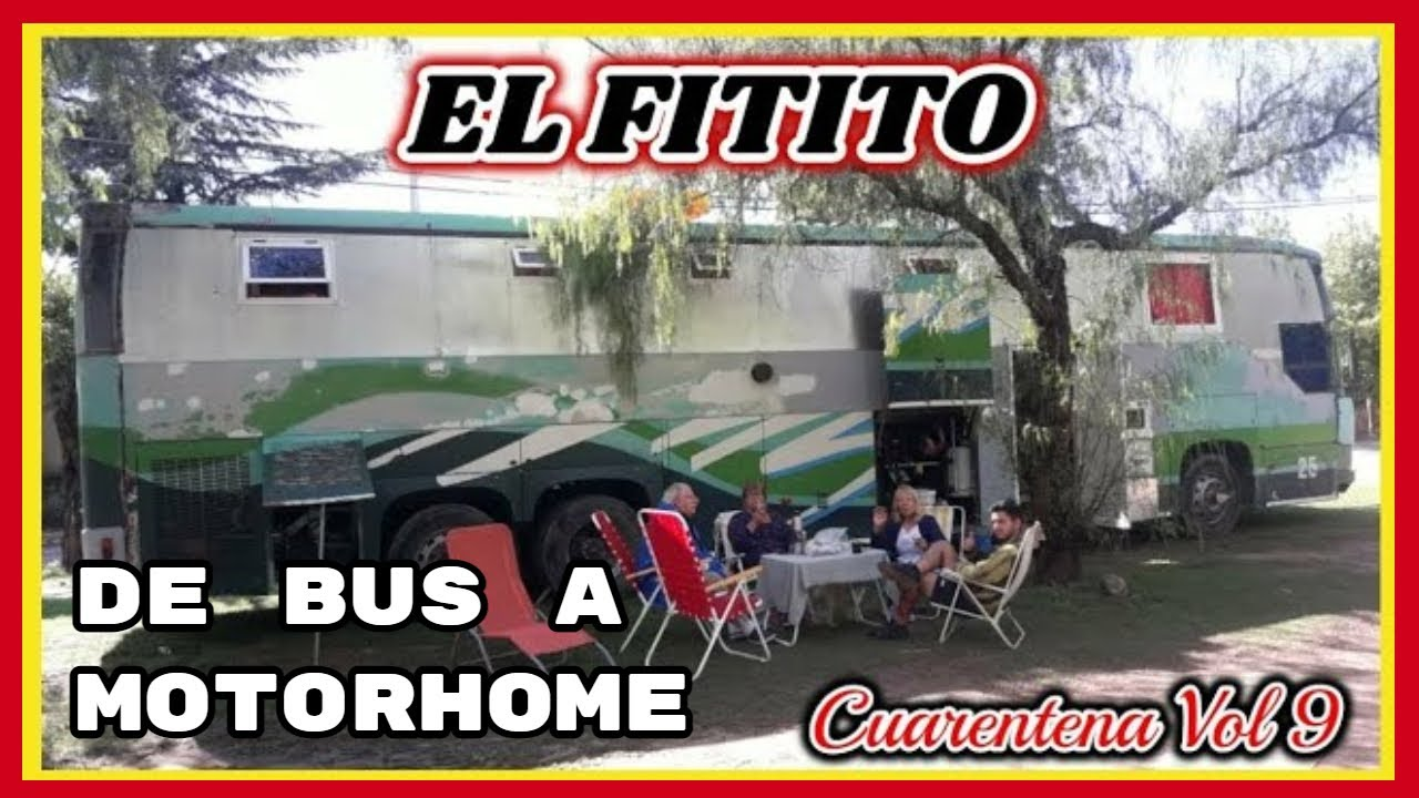 "De Colectivo a MOTORHOME ""Scania 113"""