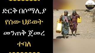 ETHIOPIA - Somalia reports 110 deaths from drought over 48 hours