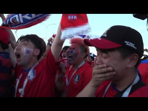 World Cup: Fans react to Germany's shock 2-0 defeat to SKorea