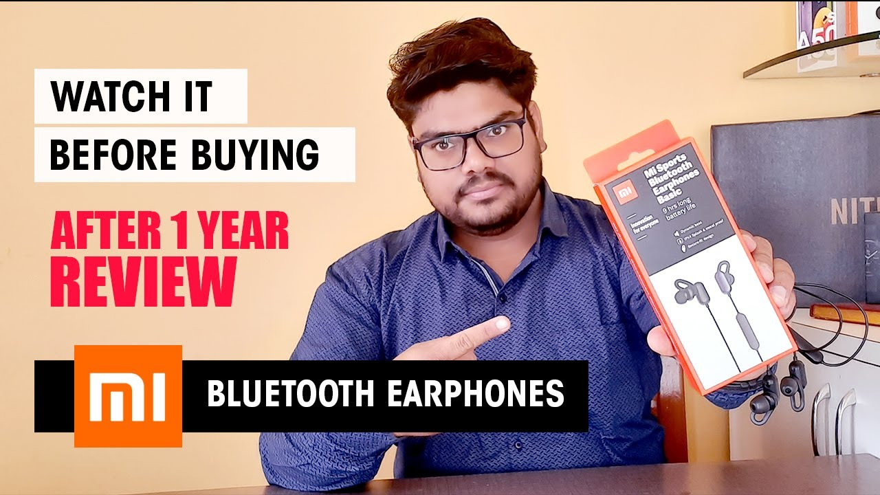 MI Bluetooth Earphone Unboxing And After 1 Year Review in Hindi - HashTag India