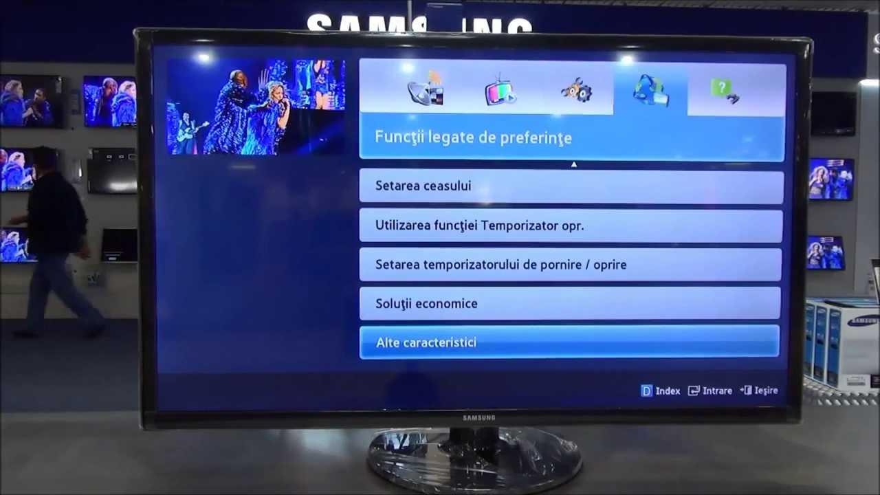 televizor led high definition samsung ue32f4000 youtube. Black Bedroom Furniture Sets. Home Design Ideas