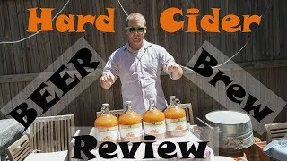 Making Hard Cider 4 Ways (Experiment) - Primary and Secondary Fermentation