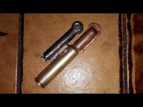 DIY Trench Bullet Lighter