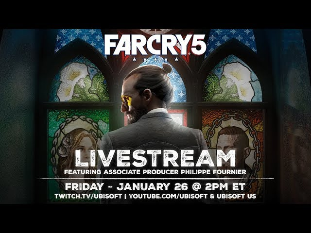 Far Cry 5 Community Pre-Launch Gameplay Livestream
