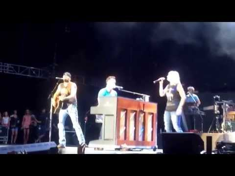 Luke Bryan, Jason Aldean, & Miranda Lambert Alabama Mountain Music