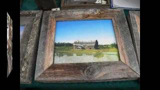 Fred's Barnwood Creations ~ Art In The Garden 2011