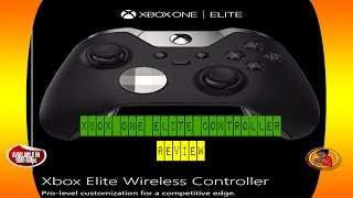 XBox One Elite Controller Review & Full Break Down @E3 2015