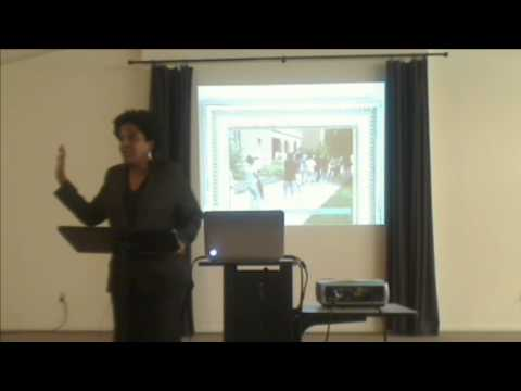 Dr Margaret Aymer at Stony Point Center PPAN Public Event