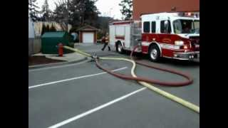Langford Fire Training - Relay Pump Connection.wmv