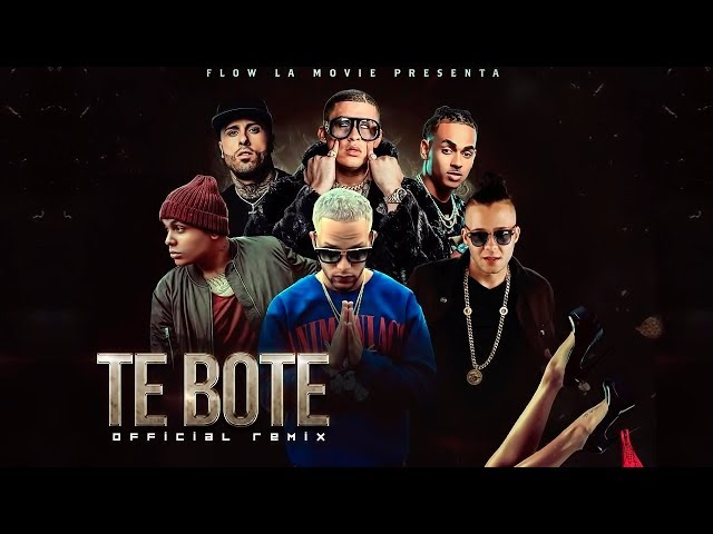 Te Bote Remix - Bad Bunny Ozuna Nicky Jam Darell
