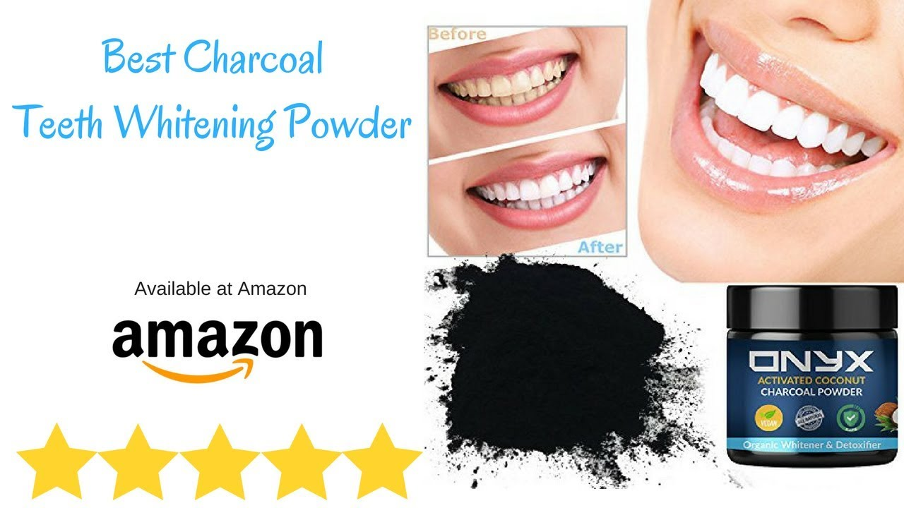 youtube activated charcoal teeth