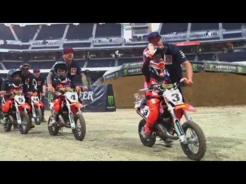Supercross 2016 at Petco Park